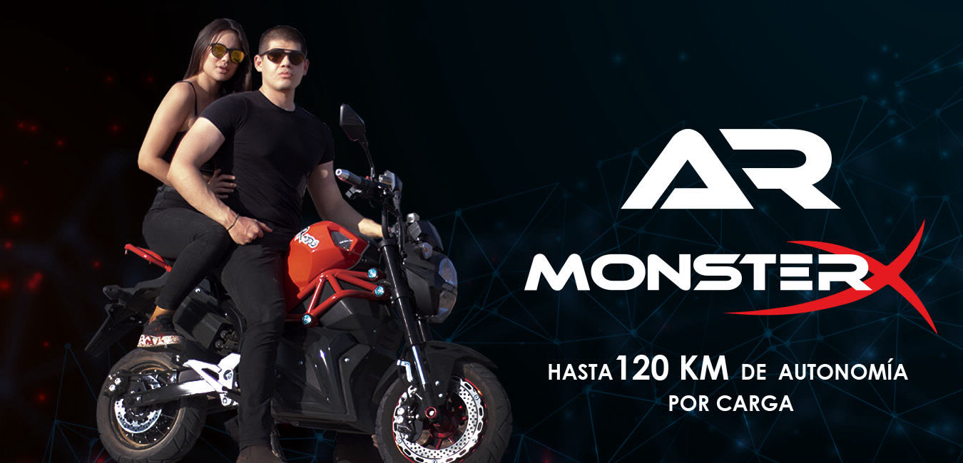 Moto electrica Monster